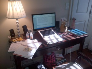 Writing Station