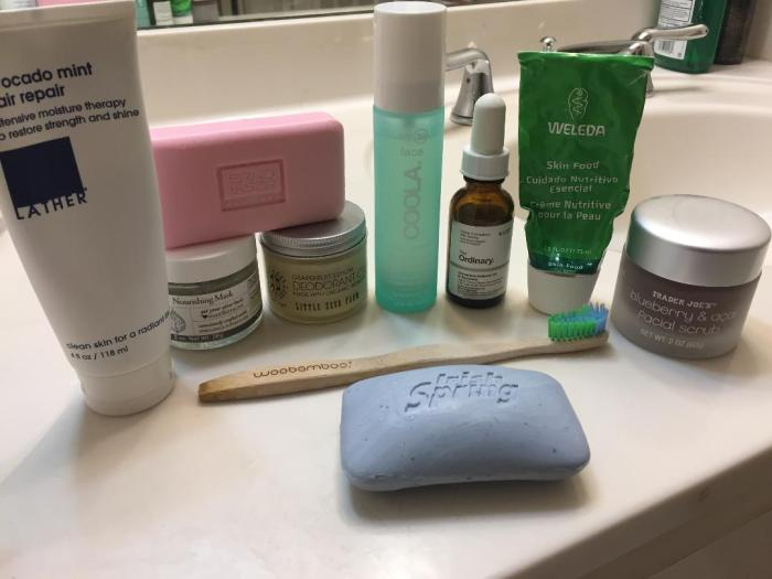 skincare plastic free mostly